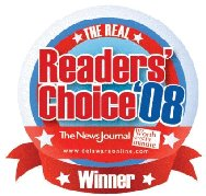 delaware readers choice award